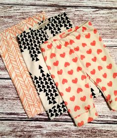 Organic baby pants, gender neutral baby clothes, organic baby clothes, arrows…