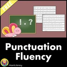 These punctuation fluency strips help students practice correct expression, inflection, and intonation when reading ending punctuation marks (. ! ?). Rather than using words, these strips use letters from the alphabet which eliminates the pressure of decoding.