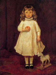 Duveneck Frank F. B. Duveneck as a Child