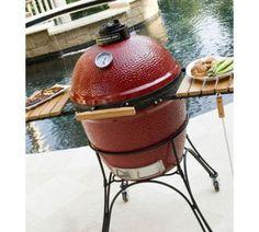 Kamado Joe Ceramic BBQ Grill & Smoker - Red