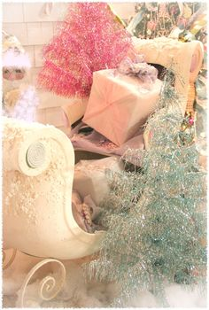 Shabby Pastel Christmas . . .
