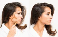 O Lado de Cá: Dica: Maquiagem - Criar luz e contorno simples