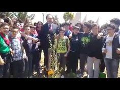 Earth Day, Antonio Rancati e gli alunni della scuola di Menfi, dedicato ...