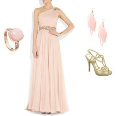 Dream prom outfit, created by gabrielle-brennan on Polyvore