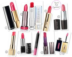 Looking for a beautiful pink lipstick? Try one of these!