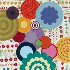 Fiesta 3 Fine-Art Print by Lisa Kesler at UrbanLoftArt.com