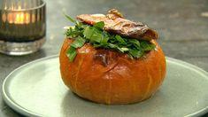 Fyldt Hokkaido Mozzarella, Keto, Fruit, Vegetables, Food, Night, Hokkaido, Vegetable Recipes, Eten