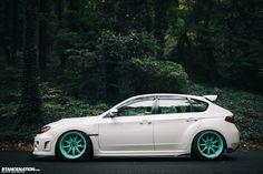 Breaking Necks On Tiffany's // Ian's sexy Subaru STi. | Stance:Nation - Form > Function