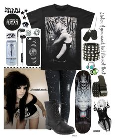 """""""intro~Allison"""" by x-punk-and-band-stuff-x ❤ liked on Polyvore"""