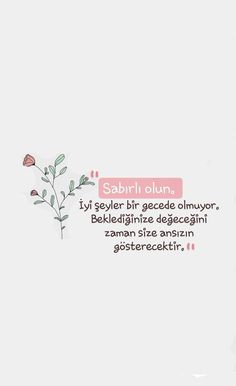 SAbırlı olun, iyi şeyler bir gecede olmuyor. Bekledğinize değeceğini zaman size ansızın gösterecektir Love Life Quotes, Book Quotes, Medical Wallpaper, Neon Words, Allah Quotes, Literature Books, My Mood, Some Words, Meaningful Quotes
