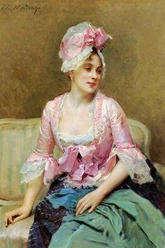Settee Lady