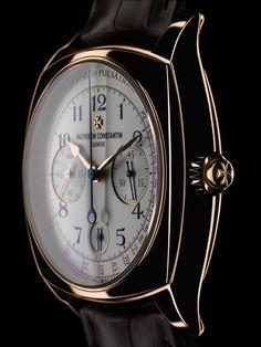 Vacheron Constantine Cushion case Anniversary Mono-pusher Chronograph