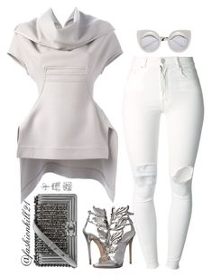 """Simple but Cute"" by fashionkill21 ❤ liked on Polyvore featuring (+) PEOPLE, Rick Owens, Giuseppe Zanotti and Chanel"