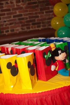 Mickey Mouse Clubhouse Birthday Party Idea