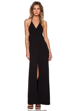 SOLACE London Fae Maxi Dress in Black | REVOLVE