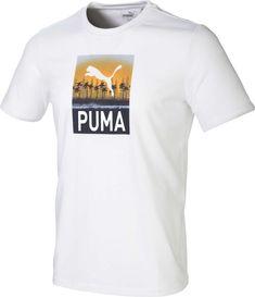 Puma Men's Play Loose Tropics Golf T-Shirt, Size: Medium, Bright White Shirt Print Design, Shirt Designs, Golf T Shirts, Tees, Puma Mens, Pumas, Women's Coats, Printed Shirts, Printable