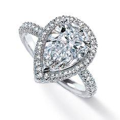 i want a pear shaped diamond!