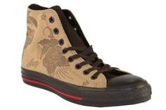 Amazon.com: Converse Mens All Star Chuck Taylor Sailor Jerry Hi Casual: Shoes