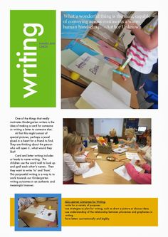 Early Learning at ISZL: Writing in KG