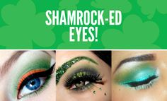 Oh, how I love a smokey eye. Be festive, Happy St. Patty's day!