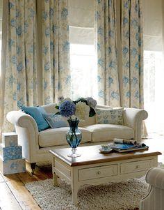 Cottage ● Living Room, Laura Ashley Design