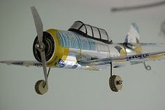 Plane made with soda can
