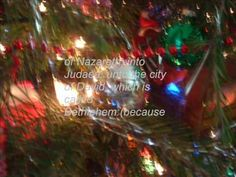 Christmas card ~ The Real Christmas Story  ((quotes are from the king James Bible)))