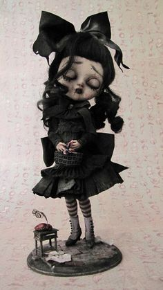doLL ~ Julien Martinez{because i was goth steampunk... before they named it geek ... dork my many labels