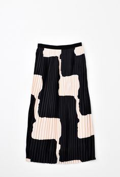 This is J | black + white | thisisj.com | love this pleated skirt | anyone know who makes it?