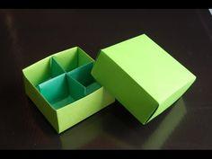 Origami  Box (traditional model). Link download: http://www.getlinkyoutube.com/watch?v=jYXLmZ5NLuc