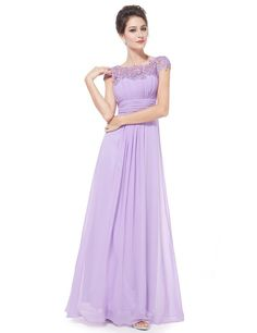 Cheap women long bridesmaid dresses, Buy Quality bridesmaid dresses directly from China bridesmaid dress style Suppliers: [Clearance Sale] Ever Pretty Elegant Women Long Bridesmaid Dress Chiffon Lace Formal Party Dress Fashion Style Bridesmaid Dress Long Evening Gowns, Formal Evening Dresses, Formal Prom, Formal Wedding, Formal Dresses, Elegant Woman, Vestido Color Lila, Long Bridesmaid Dresses, Prom Dresses