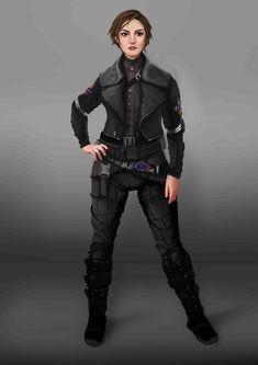 Scifi Teen Character Design, Jose Pacheco on ArtStation at https://www.artstation.com/artwork/AQYzz