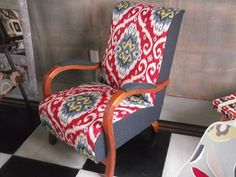 Restyled Vintage Chair