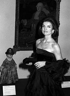 jackie bouvier kennedy onassis at gala in black evening dress.jpg