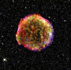 Tycho's Supernova Remnant.