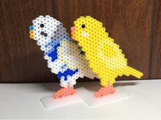 Birds perler beads