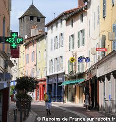 Cluny France, Street View, Brittany, Tourism, Vacation