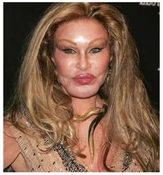 Bad plastic surgery, stiletto nails and other scary beauty looks!