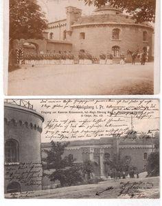 KASERNE Krauseneck und Bastion Sternwarte in Königsberg 1905 und 1908  Фотографии Евгений