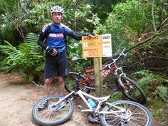 Great tracks throughout Wakarewarewa State forest
