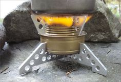 Trangia Burner Pot Support & Stabilizer by Survival Resources' John McCann