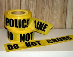 Amazon.com: Storm Stripes Barricade Tapes, POLICE LINE DO NOT CROSS - Individual Roll: Home Improvement