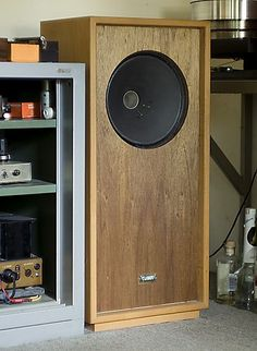 truefi: My long and winding way with vintage Tannoy speakers Open Baffle Speakers, Hifi Speakers, Stereo Amplifier, Hifi Audio, Audiophile, Floor Standing Speakers, Horn, Speaker Box Design, Diy Tech