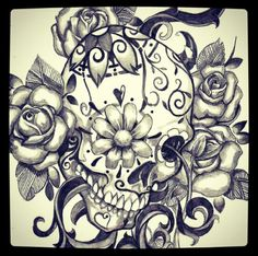 Beautiful Sugar Skull...