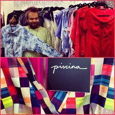 Piscina apresentando a nova coleção, que está à venda na nossa temporada Outono 2015! Contato pelo +55 11 3052-1033 #atacado #showroom #fashionroom #fashionroomsp #moda #fashion #entranapiscina #piscina