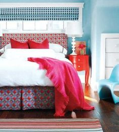 Modern Decorate With Red, White & Blue