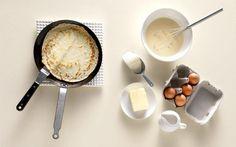 Εύκολη & γρήγορη συνταγή για κρέπες!   ediva.gr Sweets Cake, Dairy, Ice Cream, Cheese, Food, No Churn Ice Cream, Icecream Craft, Essen, Meals