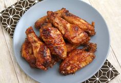 Slow Cooker Sticky Wings by Tracey's Culinary Adventures