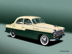 1956_skoda_1201_Rapid Vintage Cars, Retro Vintage, Car Posters, Old Cars, Motor Car, Super Cars, Volkswagen, Porsche, Classic Cars