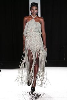 Couture Collection, Tassel, Applique, Floral, Dresses, Fashion, Moda, Vestidos, Fashion Styles